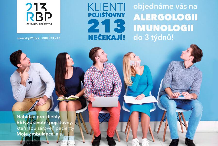 Ošetření u alergologa a klinického imunologa do 3 týdnů!