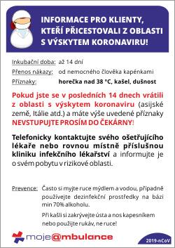 Informace pro pacienty