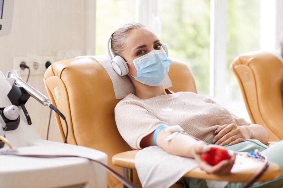 Dárcovství krve - jak probíhá odběr